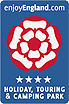 Wyreside Farm Park, Visit England 4 STAR award for camping & caravanning.